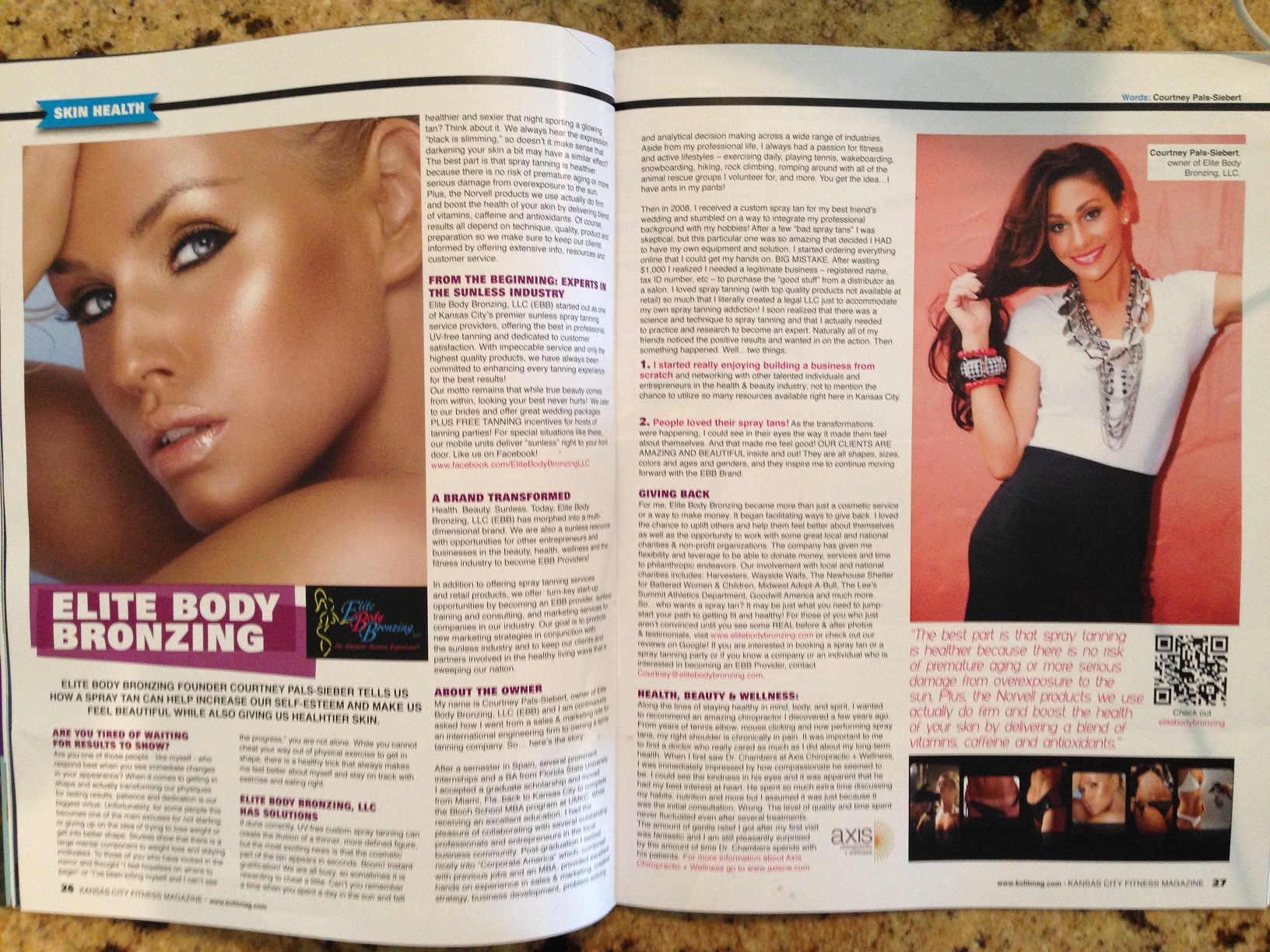 Skin Health KC Fitness Article!