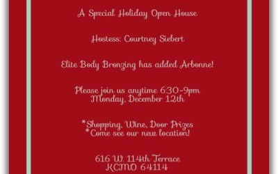 Holiday Party MONDAY NIGHT!